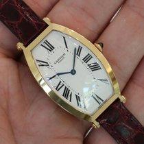 "Cartier ""privee Collection"" Tonneau 18k Yellow Gold Ref. 2458c"