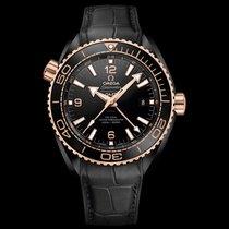 Omega Seamaster Planet Ocean Керамика 45.5mm Черный Aрабские