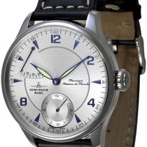 Zeno-Watch Basel Steel 44mm Manual winding 6274PR-G3 new
