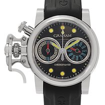 Graham Chronofighter R.A.C Trigger Automatic Men's Watch –...