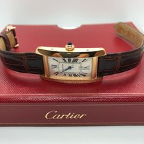 Cartier Tank Americaine Automatic in 18KT ROSE GOLD