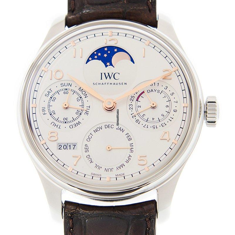 Perpetual Calendar Watch >> Iwc Portuguese Perpetual Calendar Saat Fiyatlari Portuguese