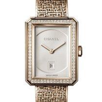 Chanel Or rose Quartz Or 26mm nouveau J12