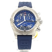 Breitling Avenger Seawolf neu 2009 Quarz Chronograph Uhr mit Original-Box und Original-Papieren A73390