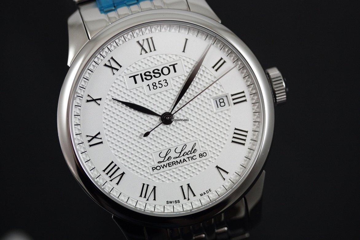 5ff7abd51 Tissot T-Classic Le Locle Powermatic 80 T006.407.11.033.00 for Rs. 33,394  for sale from a Trusted Seller on Chrono24