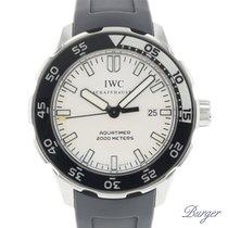 IWC Aquatimer Automatic 2000 Steel 44mm White No numerals