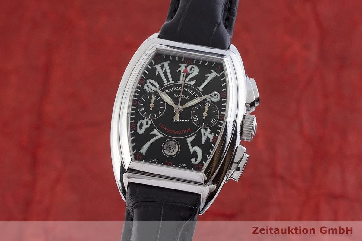 Watches, Parts & Accessories Objective Franck Muller Geneva Watch Box Case Mint Condition Boxes, Cases & Watch Winders