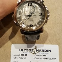 Ulysse Nardin White gold 42mm Automatic 320-60/60 pre-owned United Kingdom, CHESTER
