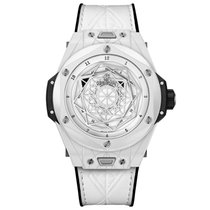 Hublot Big Bang Sang Bleu Ceramic 45mm White No numerals