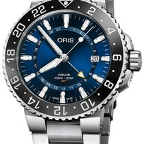 Oris Aquis GMT Date Steel 43.5mm Blue United States of America, New Jersey, Cherry Hill
