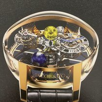 Jacob & Co. Astronomia 玫瑰金 50 MMmm 蓝色