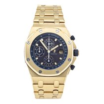 Audemars Piguet Royal Oak Offshore Chronograph Yellow gold 42mm Blue No numerals United States of America, Pennsylvania, Bala Cynwyd