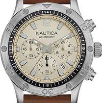 Nautica Steel Quartz NAD16545G new