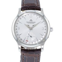 Jaeger-LeCoultre Master Calendar pre-owned 37mm Silver Month Leather