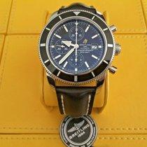 Breitling Superocean Héritage Chronograph Zeljezo 46mm Crn Bez brojeva