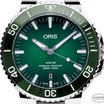 Oris 01 733 7730 4157-07 8 24 05PEB Stahl Aquis Date 43mm neu Deutschland, Stuttgart