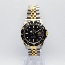 Rolex GMT-Master 16753 Sehr gut Gold/Stahl 40mm Automatik