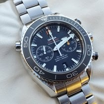 Omega Seamaster Planet Ocean Chronograph Steel 46mm Black