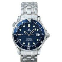 Omega Seamaster Diver 300 M Çelik 36mm Mavi Sayılar yok