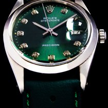 Rolex Oyster Precision Steel 34mm Green No numerals United States of America, Utah, Draper