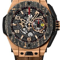 Hublot 401.OJ.0123.VR Rose gold Big Bang Ferrari 45mm pre-owned