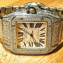 Cartier Santos 100 Stahl Deutschland, Frankfurt