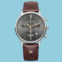 Maurice Lacroix Eliros Steel 40mm Brown Roman numerals