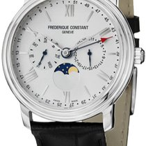 Frederique Constant Classics Business Timer Steel Silver United States of America, New York, Brooklyn