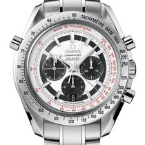 Omega Chronograph 44.25mm Automatik 2016 neu Speedmaster Broad Arrow