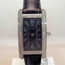 Cartier Tank Américaine neu Quarz Uhr mit Original-Box und Original-Papieren WB705131