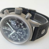 Hanhart Chronograph 40mm Automatic new Black