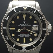 Rolex Red Submariner 1680 Mint Conditions with Original Paper