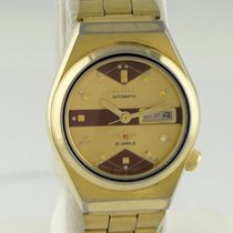 Citizen Gold Plated Vintage Citizen Day Date Automatic Watch 6...