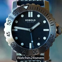 Kobold Arctic Diver Swiss Anti-magnetic Deep Black Dial 45.8mm