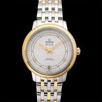 Omega De Ville Prestige новые Автоподзавод Часы с оригинальными документами и коробкой 424.20.33.20.52.001