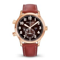 Patek Philippe Travel Time Or rose 42mm