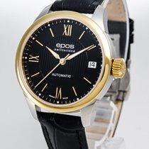 Epos Reloj de dama 34mm Automático nuevo Reloj con estuche y documentos originales
