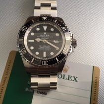 Rolex 126660 DEEPSEA SEA DWELLER 2018 Open Warranty Card Sept