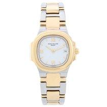 Patek Philippe Nautilus Ladies Steel Gold 2-Tone Watch 4700/51