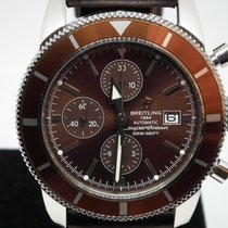 Breitling Superocean Héritage Chronograph Steel 46mm Brown No numerals