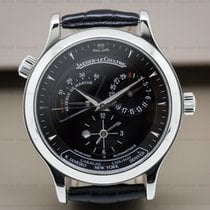 Jaeger-LeCoultre 142.8.92 Master Geographic SS Black Dial/Depl...