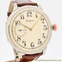 Longines pre-owned Manual winding 50mm Silver