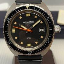 Aquastar 钢 40mm 自动上弦 全新