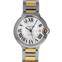 Cartier Ballon Bleu 42mm Gold/Steel 42mm Silver Roman numerals United States of America, Maryland, Baltimore, MD