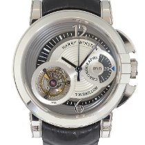 Harry Winston White gold Manual winding 450-MMTC42W pre-owned