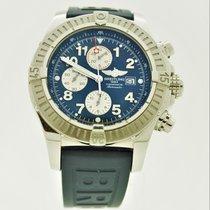 Breitling Super Avenger II Steel 48mm Blue Arabic numerals United States of America, Florida, Key Biscayne