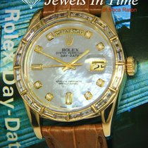 Rolex Yellow gold Automatic Mother of pearl 36mm pre-owned Day-Date 36