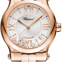 Chopard Or rose 36mm Remontage automatique 274808-5002 nouveau