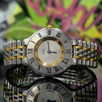 Cartier 21 Must de Cartier pre-owned 28mm Silver