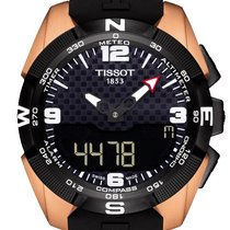 Tissot Titanium Quartz Black 45mm new T-Touch Expert Solar